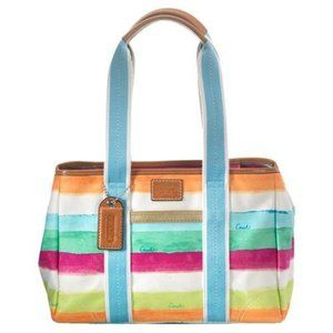 Coach | Hamptons Watercolor Shoulder Bag/Purse